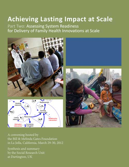 Achieving Lasting Impact at Scale