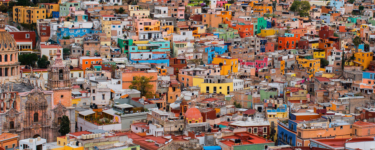 Colorful city of Guanajuato, Mexico