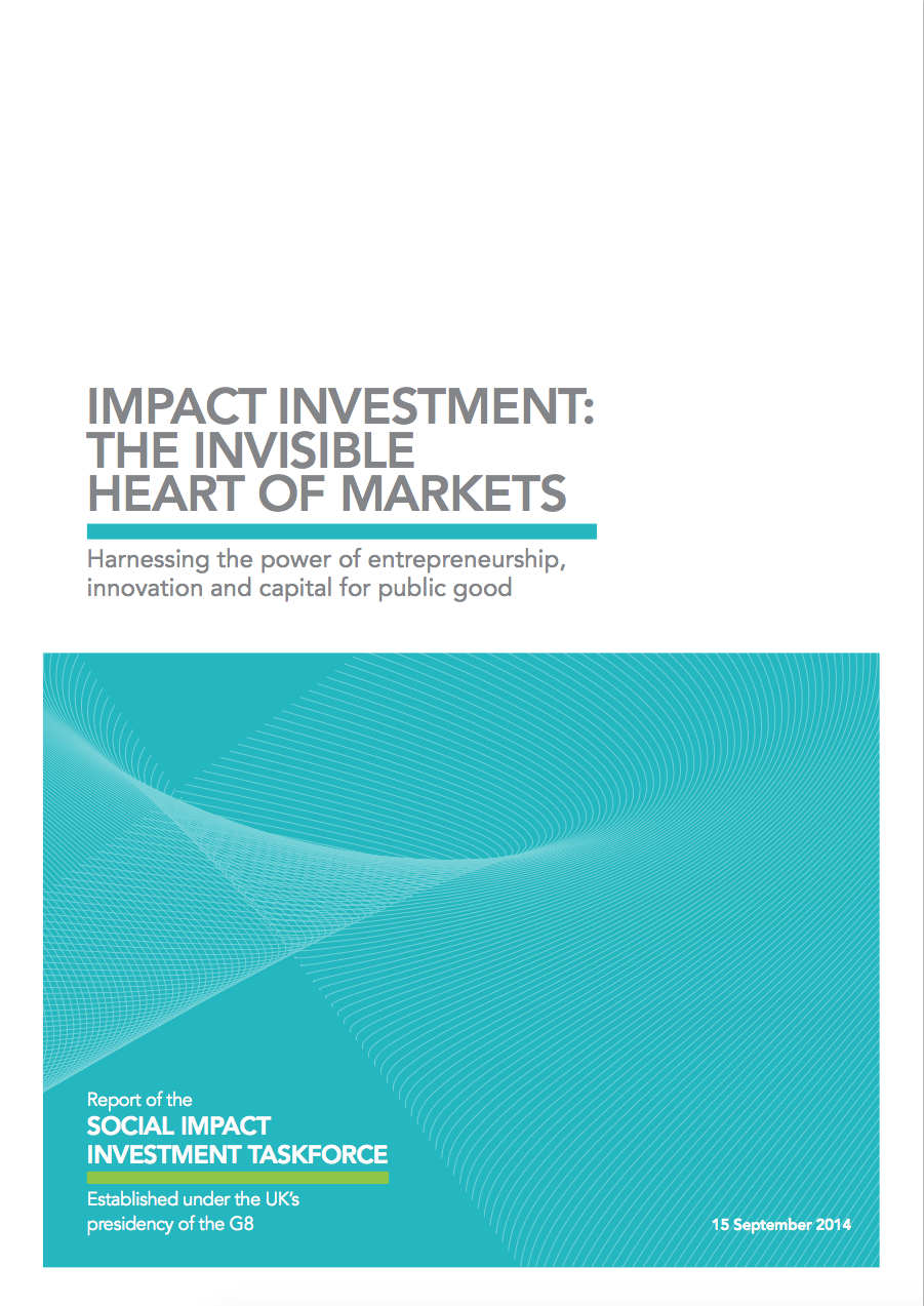 Impact Investment: The Invisible Heart of Markets