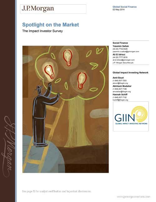2014 JP-Morgan GIIN- Market Spotlight