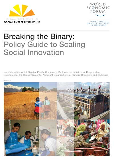 Word-Economic Forum - Breaking the Binary: Policy Guide to Scaling Social Innovation