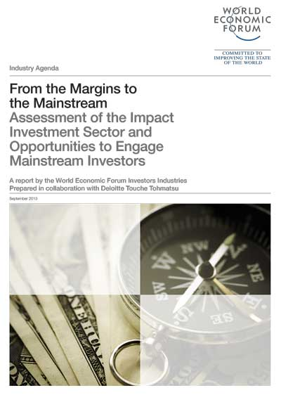 World Economic Forum - From the Margins to the Mainstream